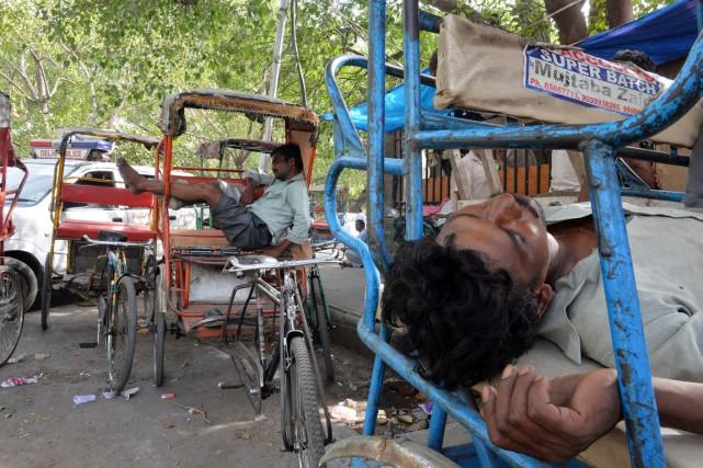 vague de chaleur en Inde
